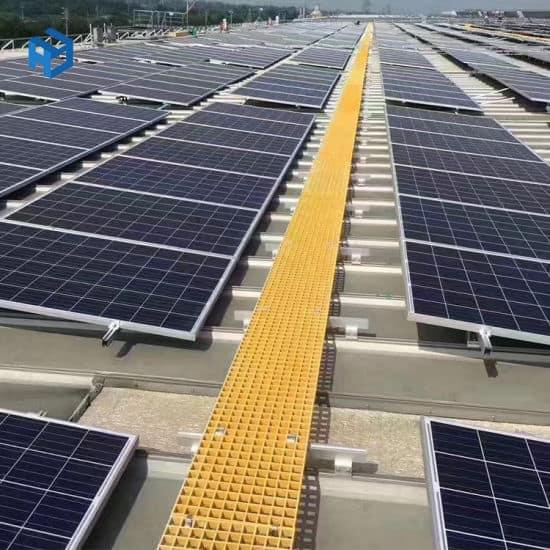 FRP Solar Walkway